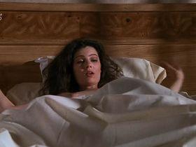Fran Drescher nude, Lori Petty sexy - Cadillac Man (1990)