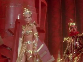 Ornella Muti sexy - Flash Gordon (1980)
