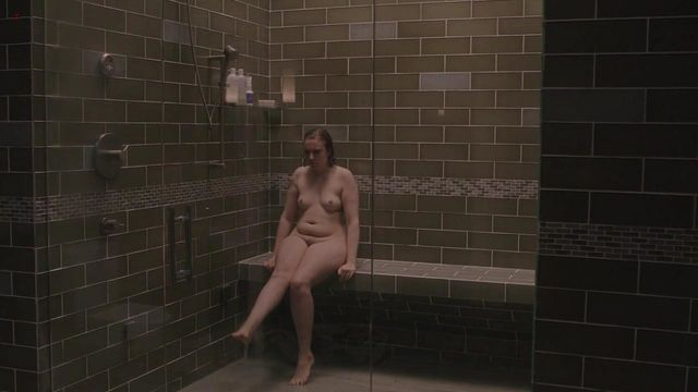 naked girl from the tv show girls