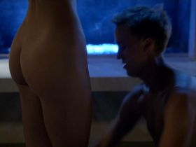 Olivia Jordan nude - Murder in the First s01e10 (2014)