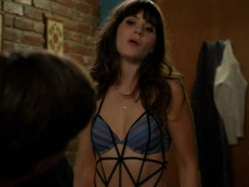 Zooey Deschanel sexy - New Girl s01e08 (2011)