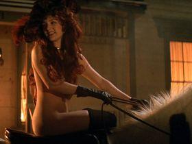 Jenny Wright nude, Alina Arenal nude - Young Guns II (1990)
