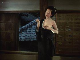 Mariko Kaga nude - Kagero-za (1981)
