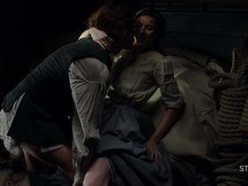 Caitriona Balfe sexy - Outlander s03e09 (2017)