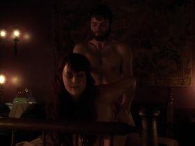 Azure Parsons nude - Salem s01e04 (2014)