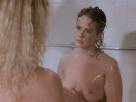 Linda Blair nude, Sybil Danning nude - Chained Heat (1983)