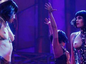Gina Gershon nude, Elizabeth Berkley nude - Showgirls (1995)
