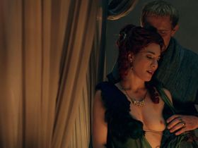 Jaime Murray nude - Spartacus: Gods of the Arena s01e04 (2011)