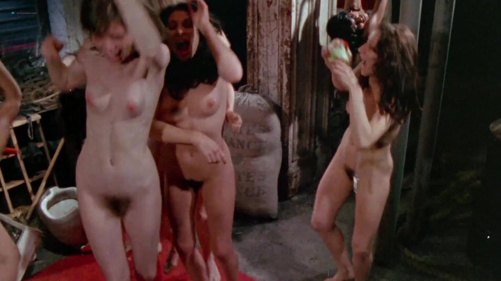 Viju Krem nude, Arlana Blue nude, Jennifer Stock nude - Bloodsucking Freaks (1976)