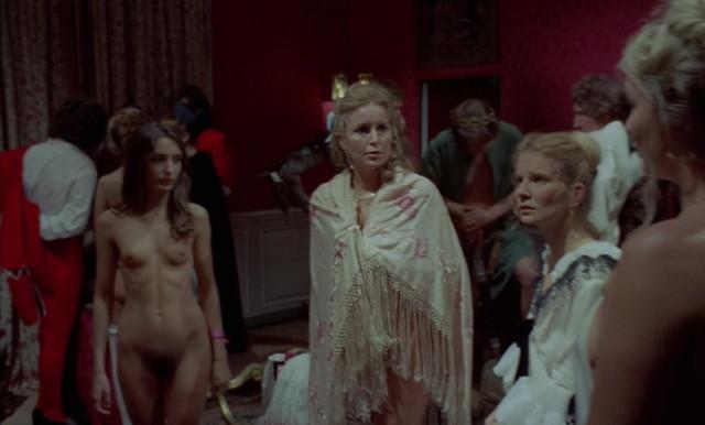Marina Vlady nude, Christine Pascal nude, Monique Chaumette nude, Monique Lejeune nude - Que la fete commence (1975)