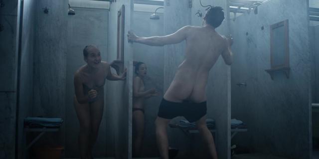 Alba August sexy, Angela Bundalovic nude, Jessica Dinnage nude - The Rain s01e05 (2018)