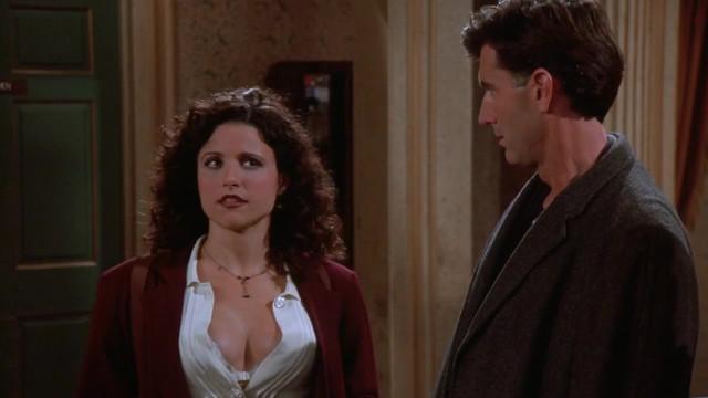 Julia Louis-Dreyfus sexy - Seinfeld s07e10 (1995)