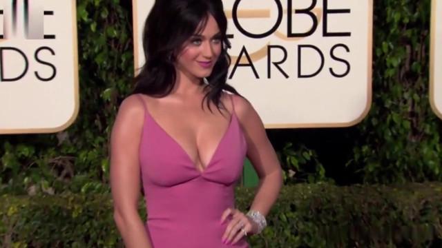 Katy Perry sexy - Golden Globe Awards (2016)