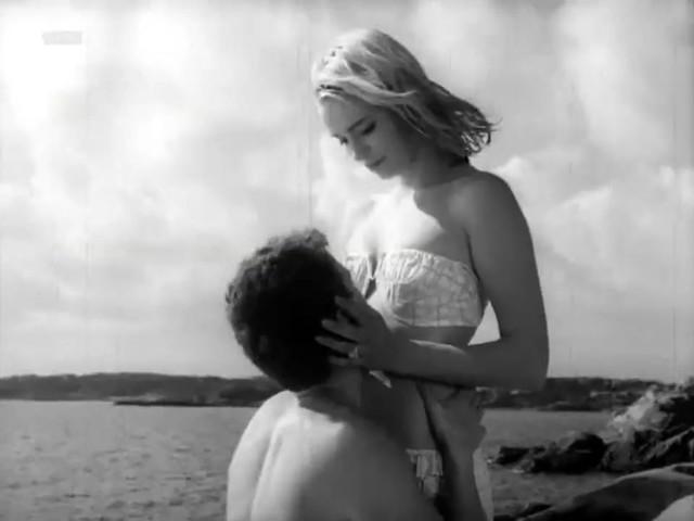 Margrete Robsahm nude - Line (1961)
