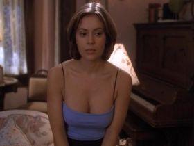 Alyssa Milano sexy - Charmed s01 (1998)