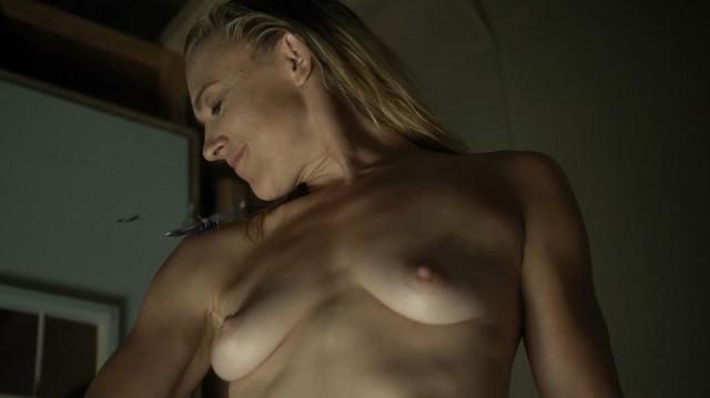 Dominique Swain nude - Nazi Overlord (2018)