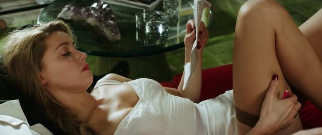 Amber Heard nude - London Fields (2018)