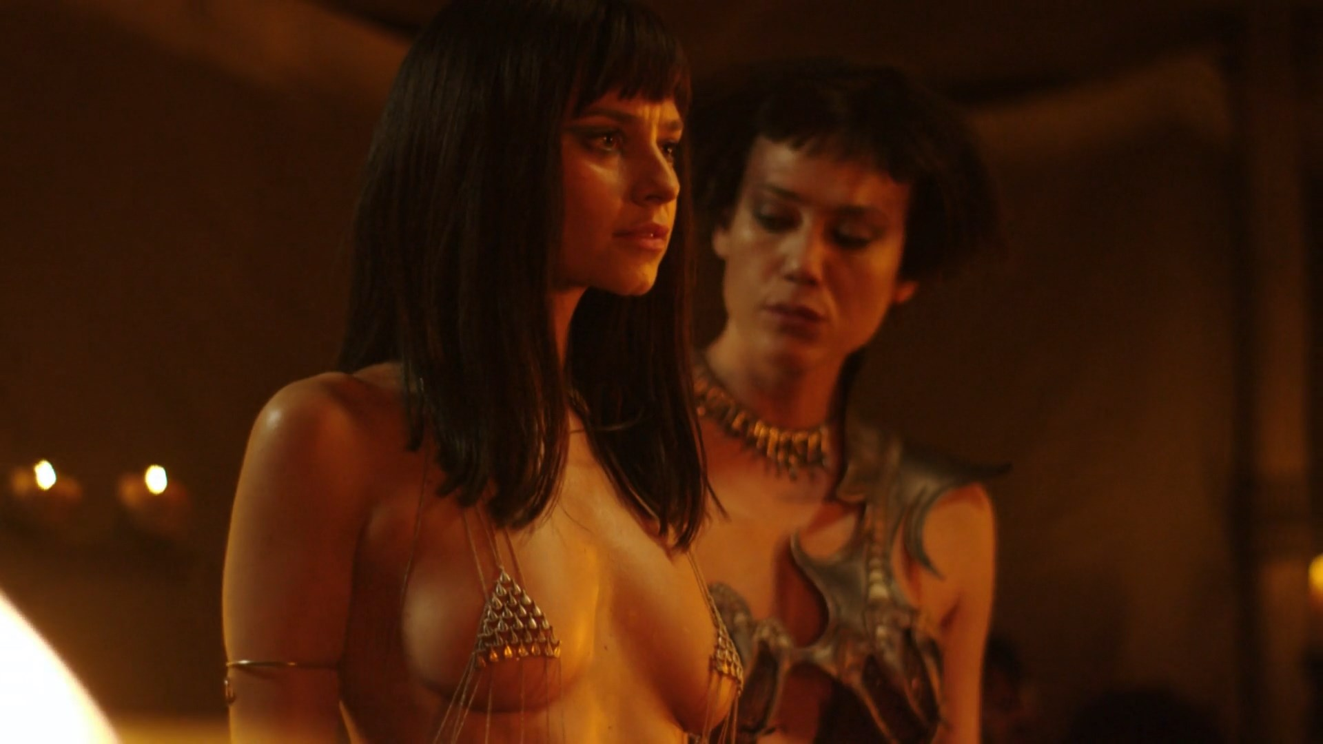 Katy Louise Saunders sexy - The Scorpion King Book of Souls (2018)