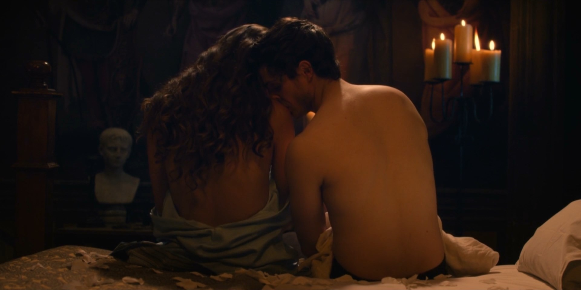 Synnove Karlsen nude - Medici Masters of Florence s02e03 (2018)