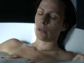 Carine Bouquillon nude - Les temoins s01e05 (2015)