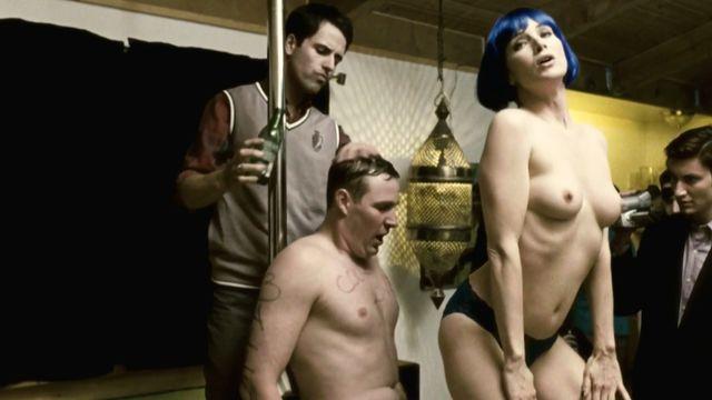 Angela Featherstone Nude Beneath The Dark 2010