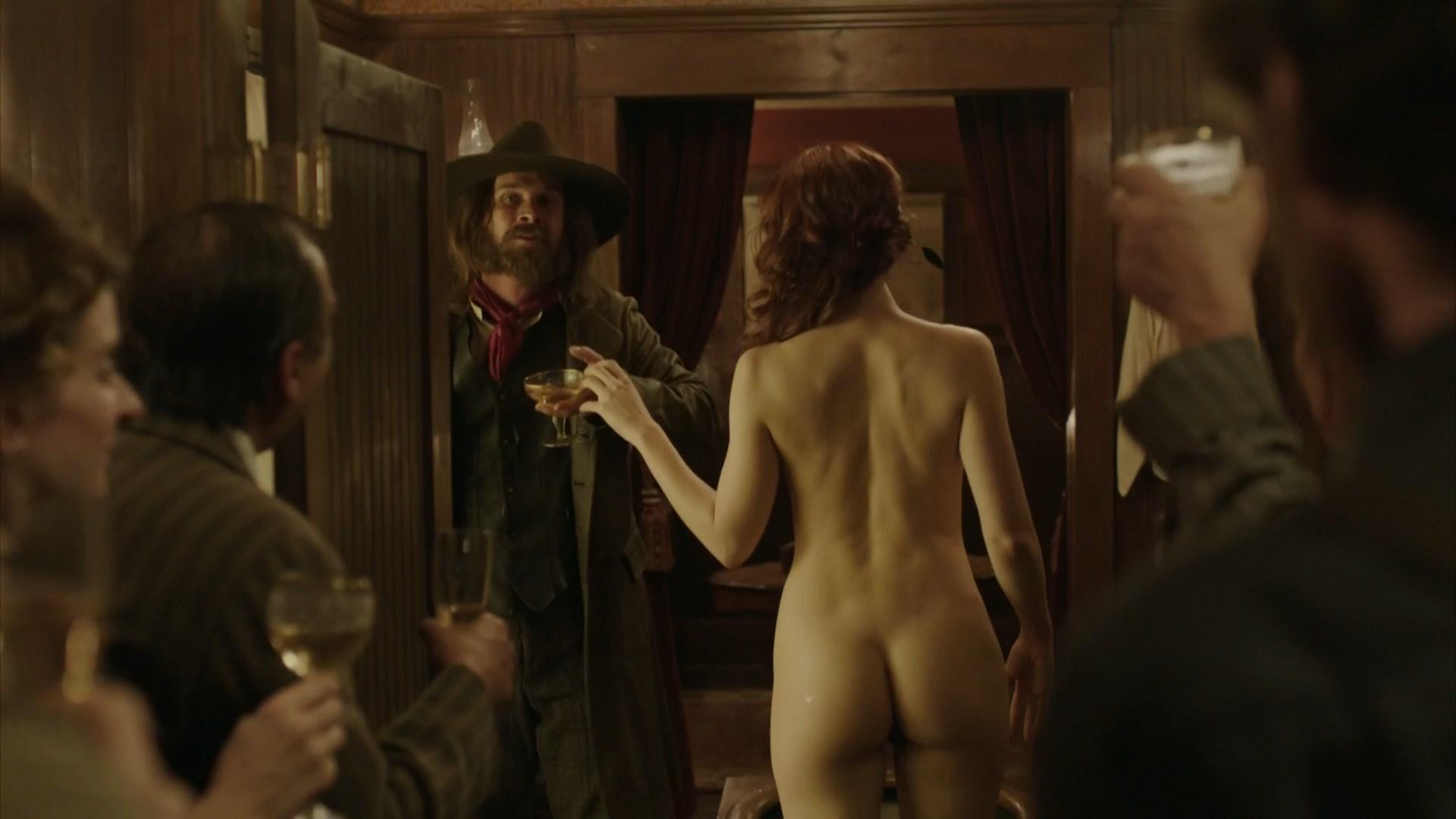 Conor Leslie nude - Klondike s01e01 (2014)