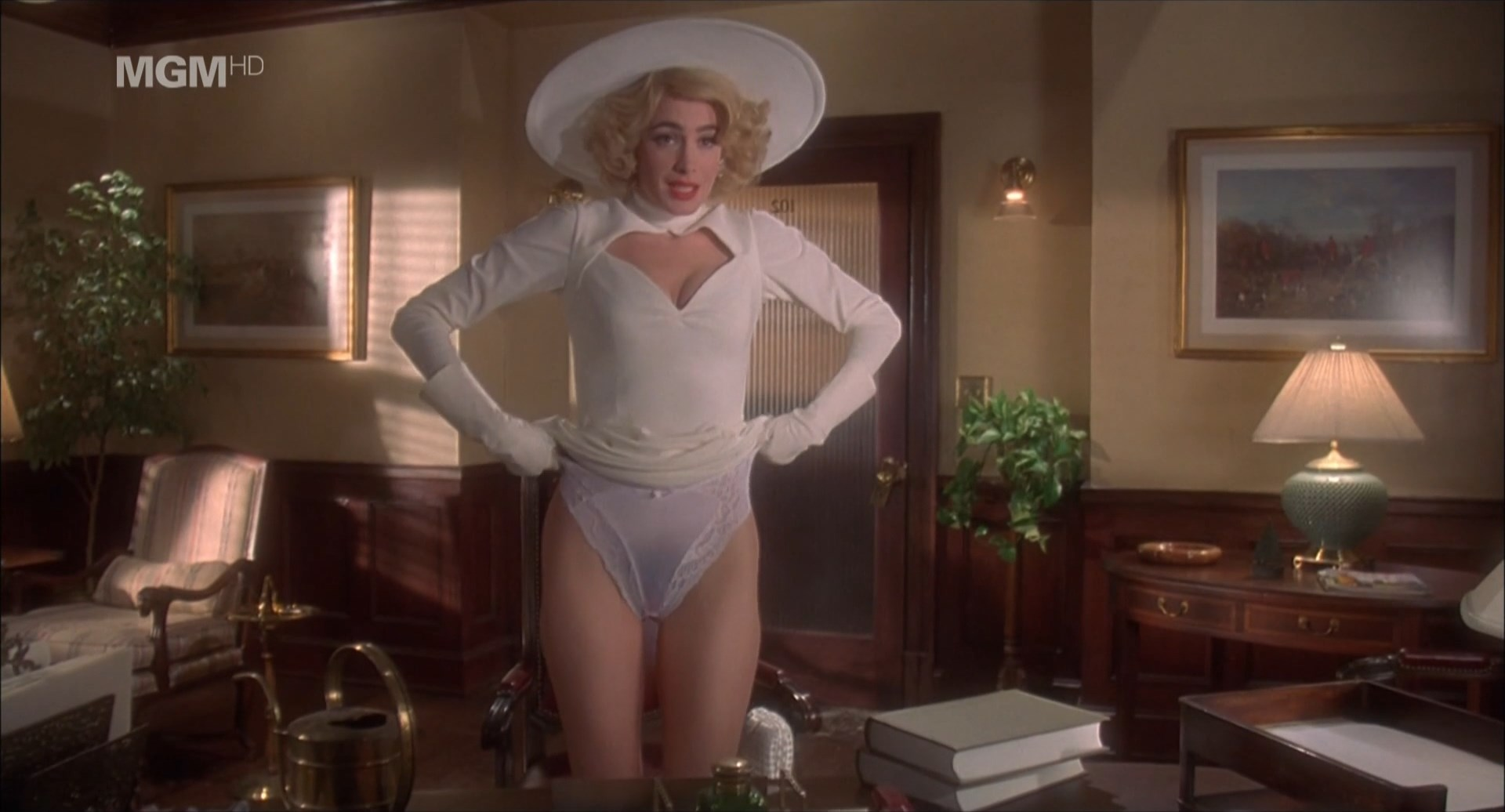 Sean Young sexy - Fatal Instinct (1993)