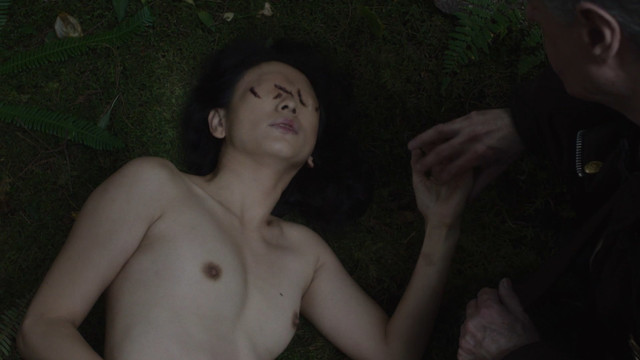Nae Yuki nude - Twin Peaks s03e14 (2017)