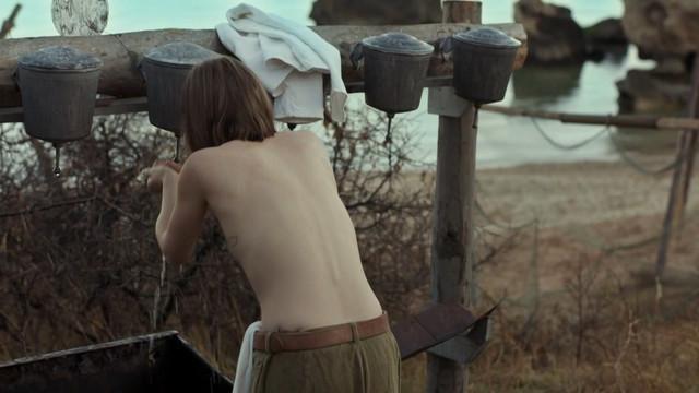 Aleksandra Tyuftey nude - Chernyje buchlaty s01e02 (2017)