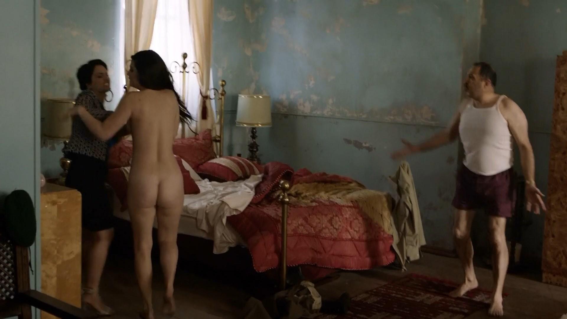 Babushka Ferenczi nude - Hunters s01e06 (2016)