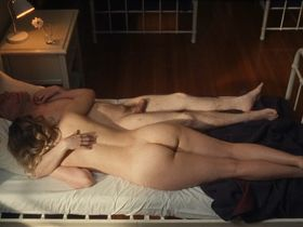Jess Weixler nude - Chained for Life (2018)