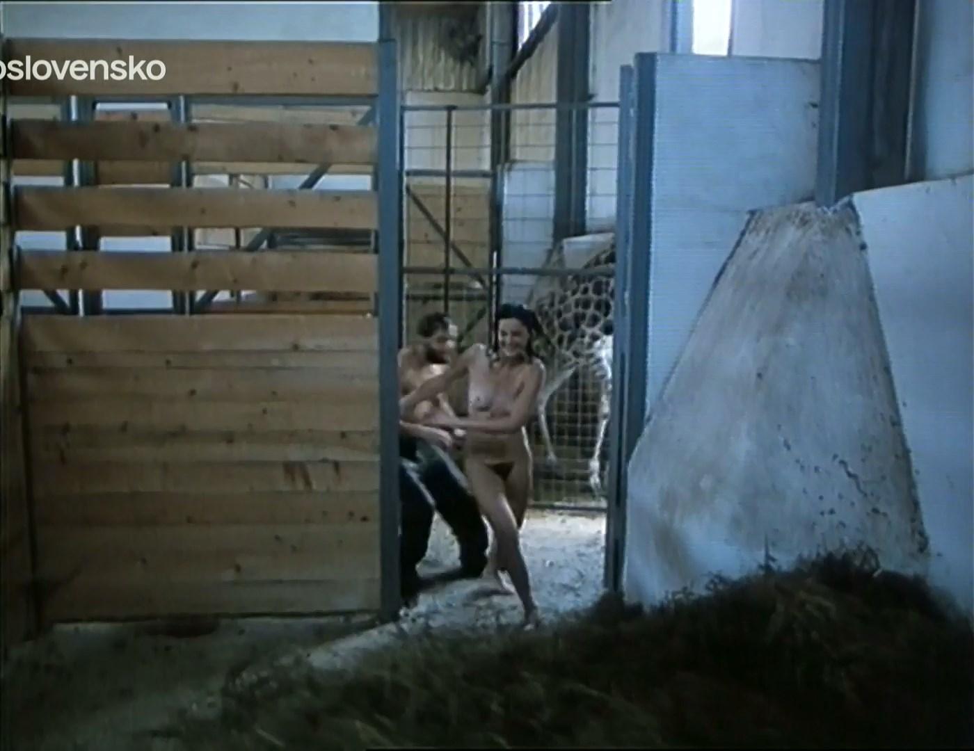 Monika Naseva nude - Zvirata ve meste (1989)