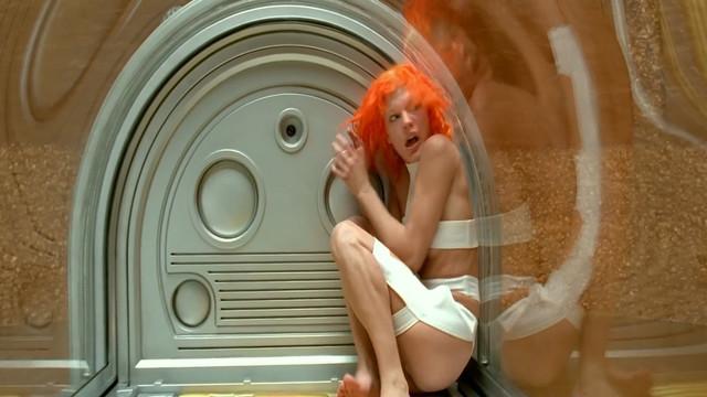 Milla Jovovich nude - The Fifth Element (1997)