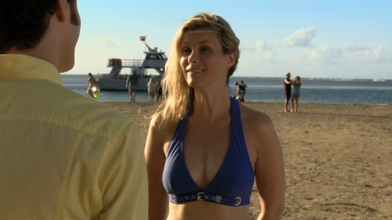 Bonnie Somerville sexy - Royal Pains s02e04 (2010)