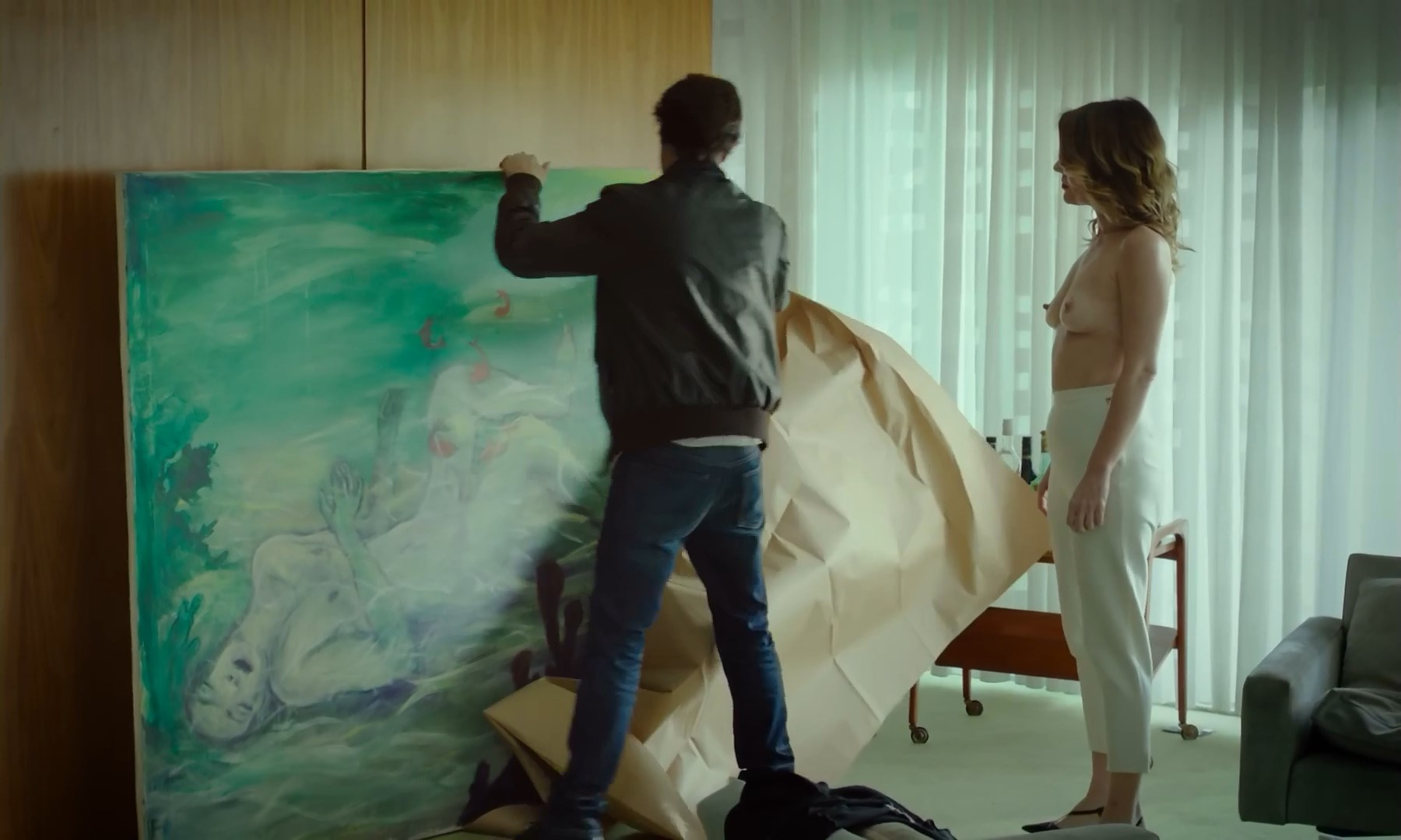 Cecilia Caballero Jeske nude - Belmonte (2018)