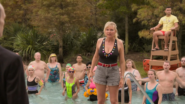 Kirsten Dunst sexy - On Becoming a God in Central Florida s01e04 (2019)