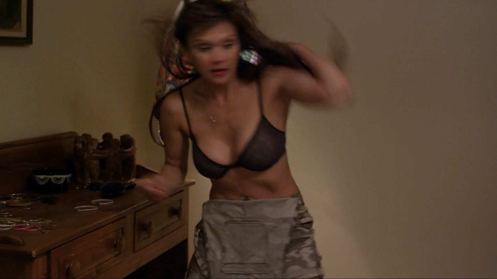 Nia Peeples sexy - The Untold Story (2019)