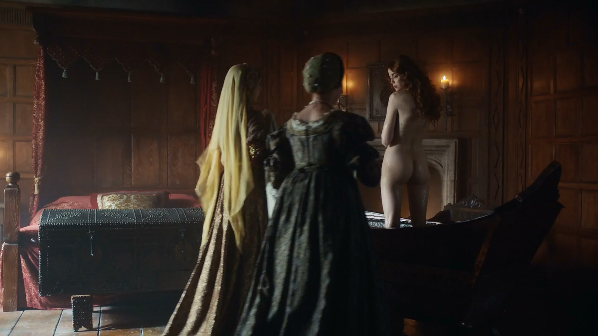 Charlotte Hope nude - The Spanish Princess s01e08 (2019)