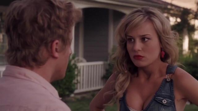 Brie Larson sexy - Housebroken (2009)