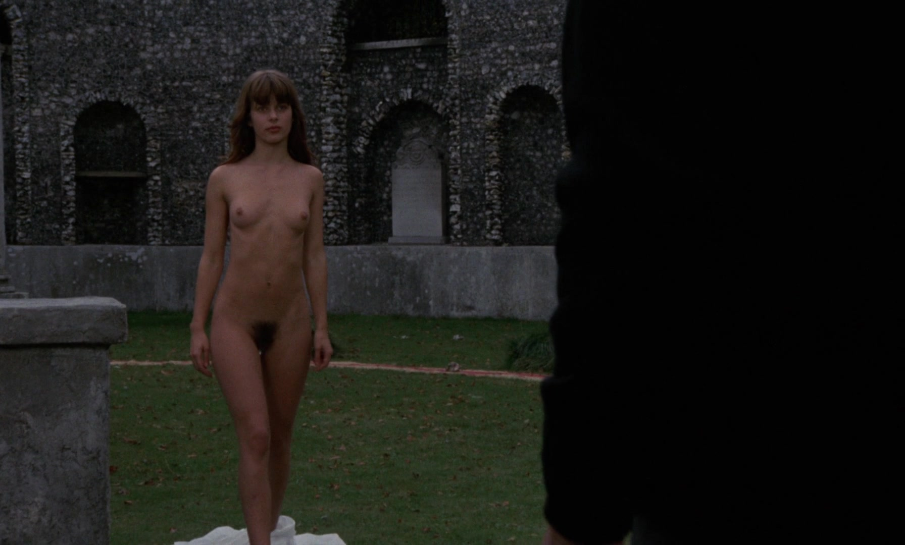 Nastassja Kinski nude - To the Devil a Daughter (1976)