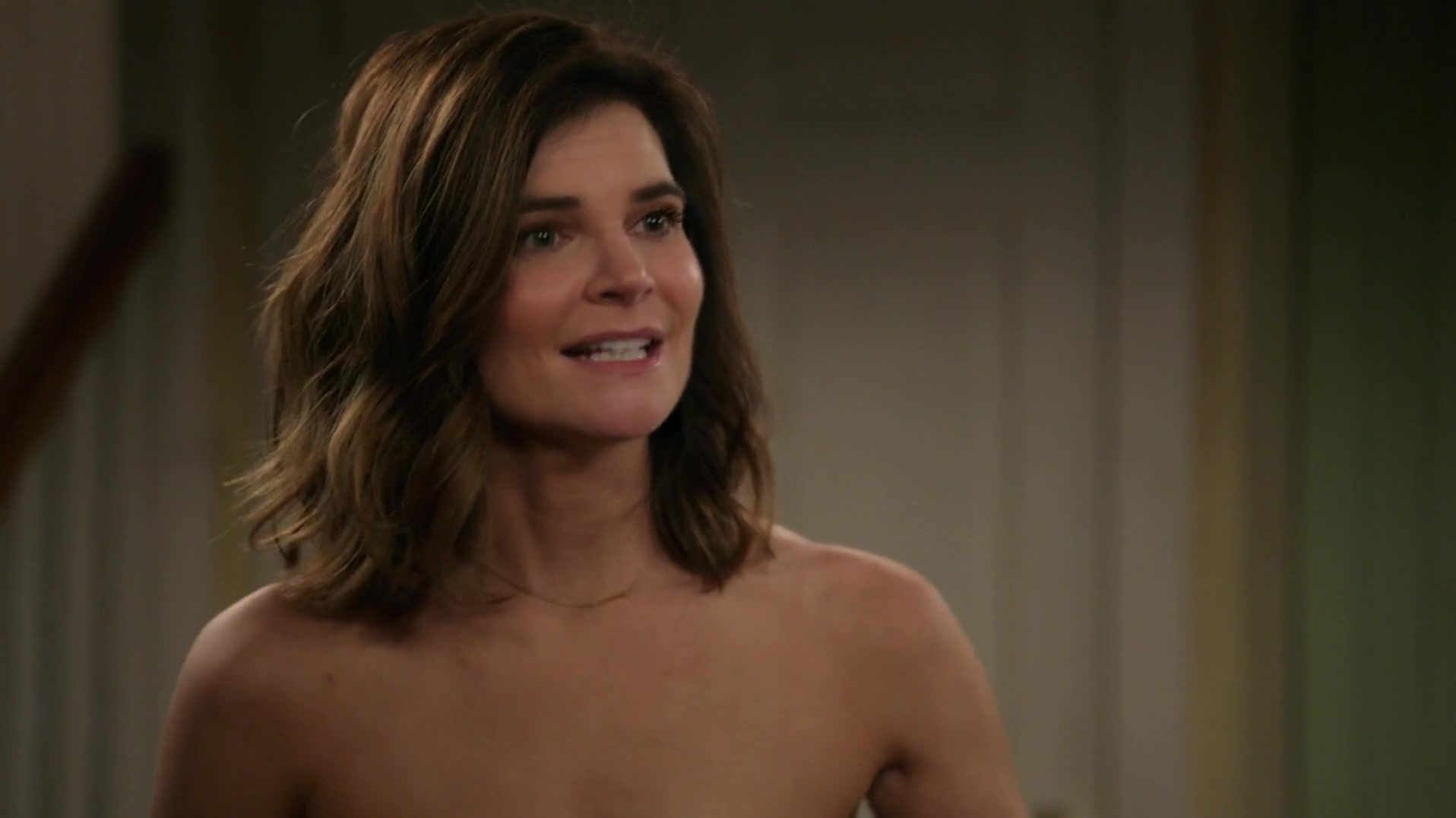 Betsy Brandt sexy - Life in Pieces s02e19 (2016)