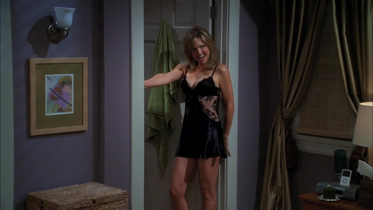 Courtney Thorne-Smith sexy - Two and a Half Men s08e03 (2010)