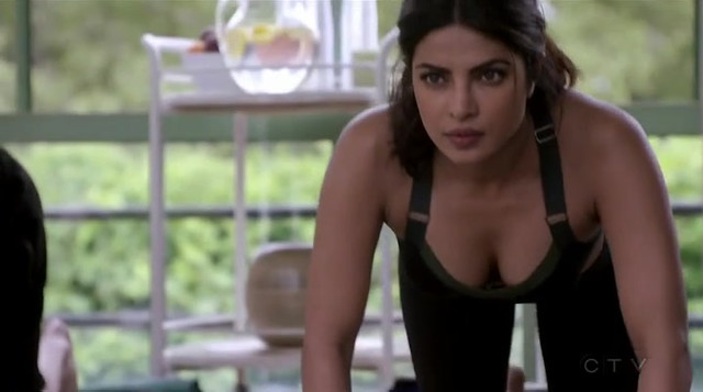 Priyanka Chopra sexy - Quantico s02e02, e09, e18 (2016)