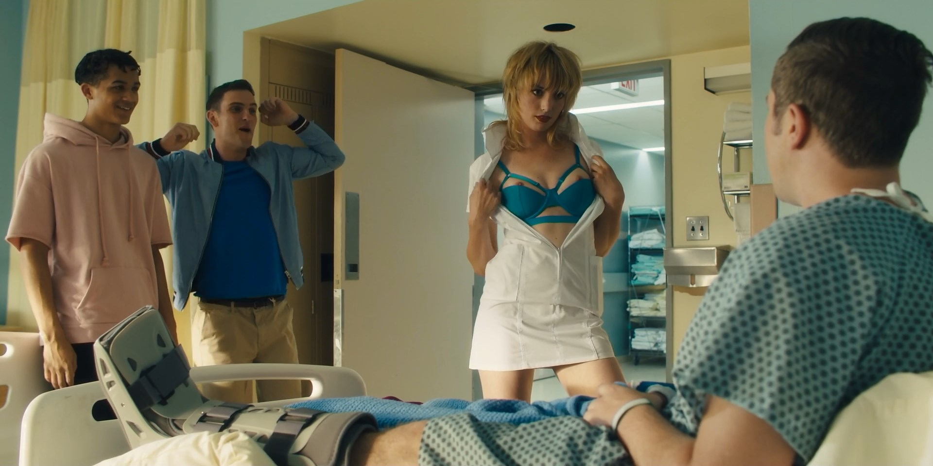Gaite Jansen nude, Carla Gugino sexy, Alice Haig nude, Corrin Evans nude - Jett s01e04 (2019)