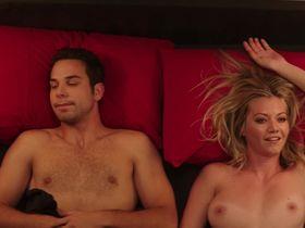 Alexis Knapp sexy, Megan Stevenson nude - Cavemen (2013)