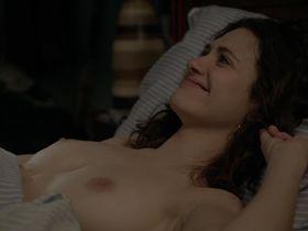 Emmy Rossum nude - Shameless s04e01 (2014)
