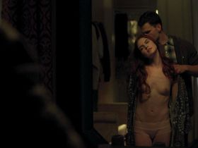 Emily Tyra nude - Flesh and Bone s01e04 (2015)