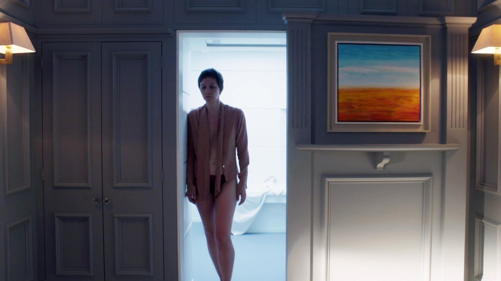 Maggie Gyllenhaal sexy - The Honourable Woman s01e02 (2014)