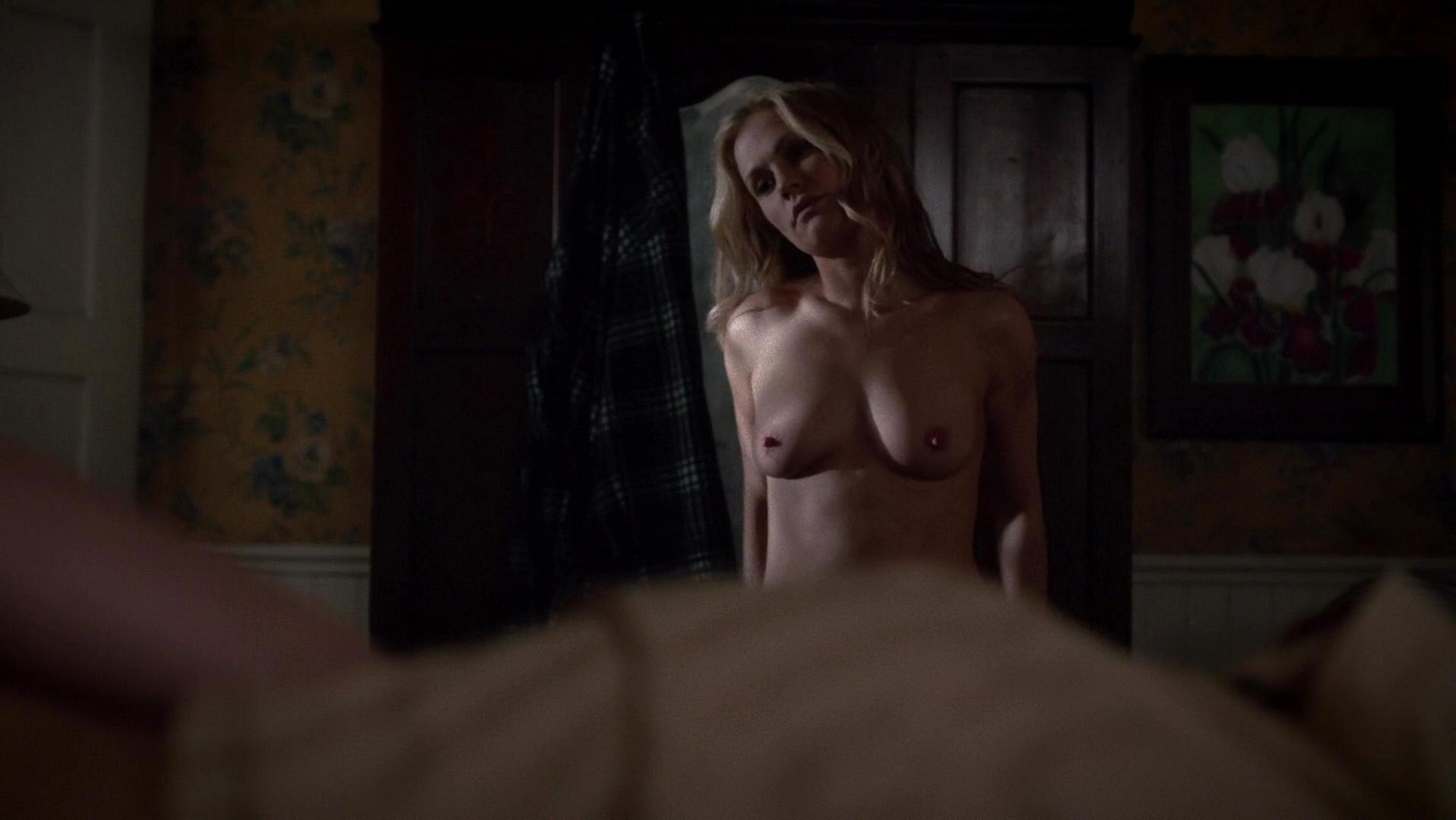 Anna Paquin nude - True Blood s07e01 (2014)