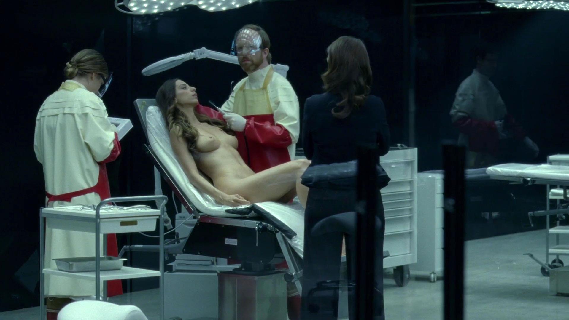 Angela Sarafyan nude - Westworld s01e07 (2016)